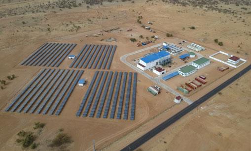 Centrale hybride de Kiffa Thermique et solaire-1