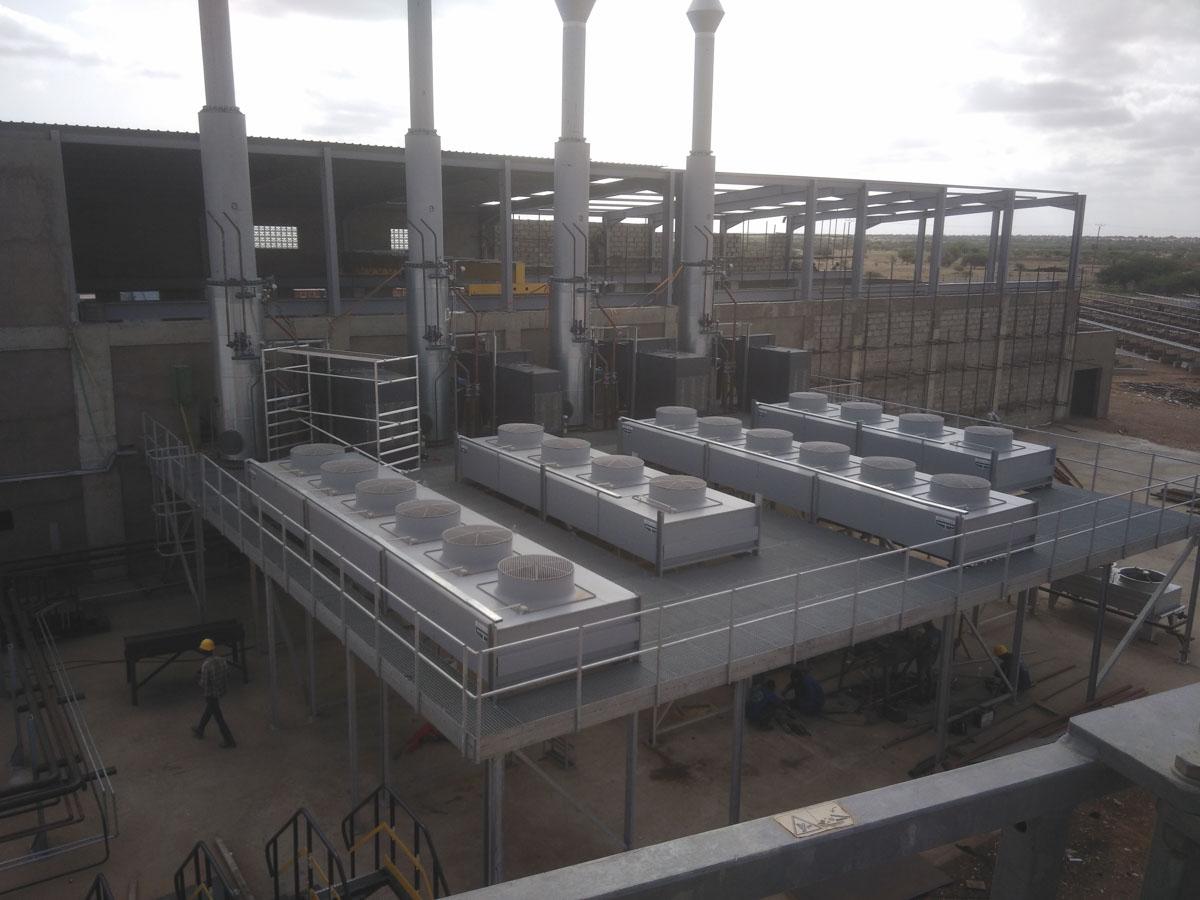 Centrale hybride de Kiffa en république démocratique du congo
