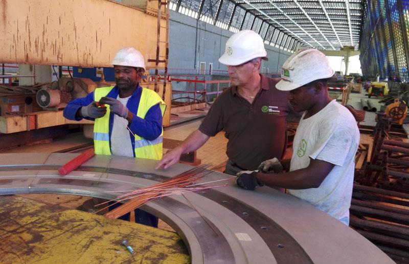 Gestion de projets énergétiques en Afrique