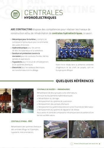 Brochures ABC CONTRACTING