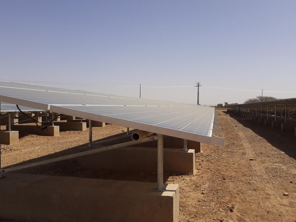 Centrale thermique et hybride en Afrique