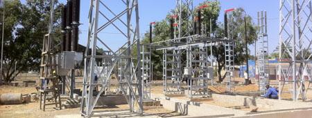 Electrification de l'Afrique - Construction de réseaux électriques