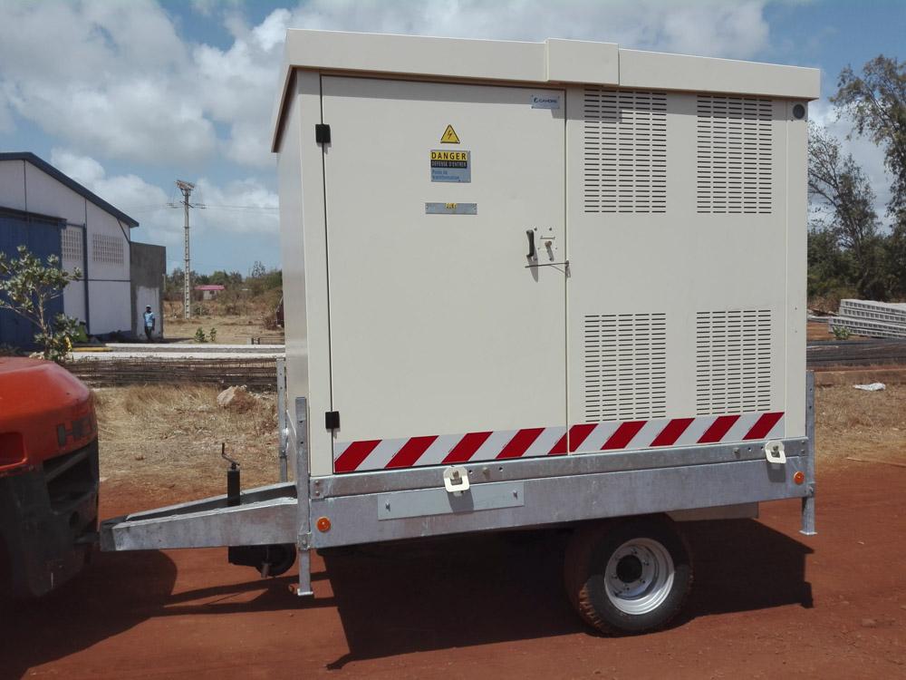 Réseaux électriques et fournitures en Afrique