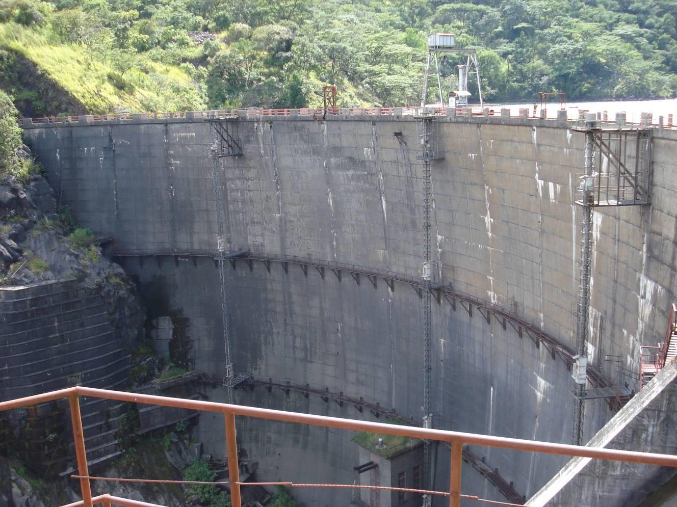 Barrage hydroélectrique en Afrique